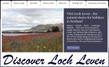 Visit the Discover Loch Leven website for tourism and visitor information on Kinross-shire